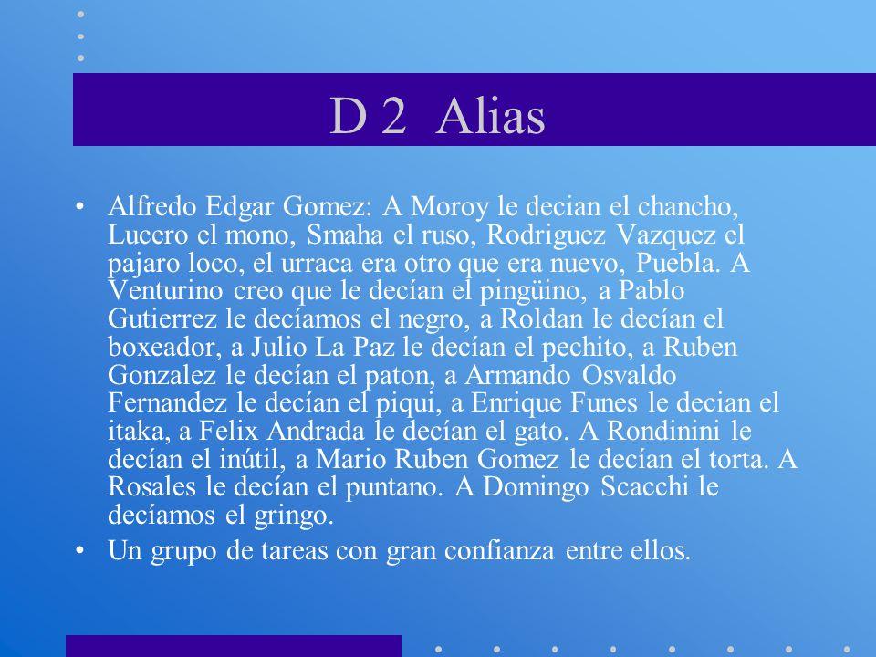 D 2 Alias
