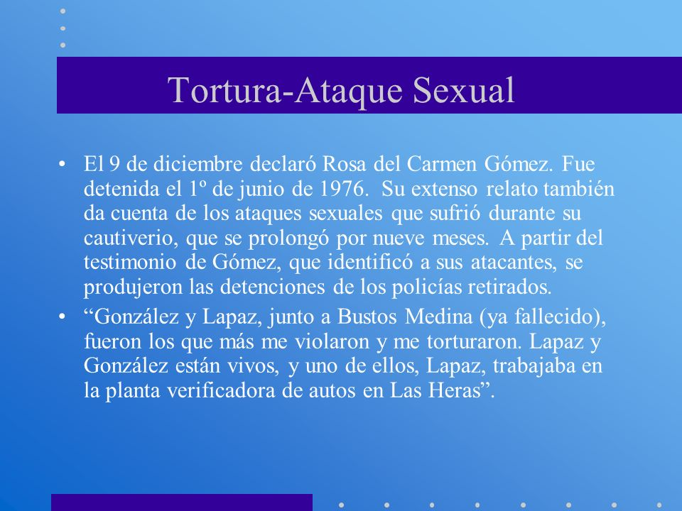 Tortura-Ataque Sexual