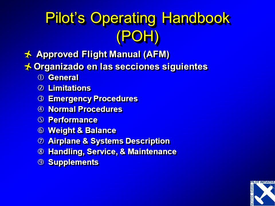 Pilot's Operating Handbook (POH)