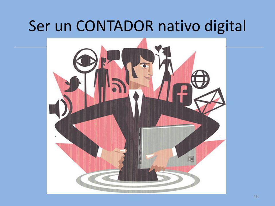 Ser un CONTADOR nativo digital
