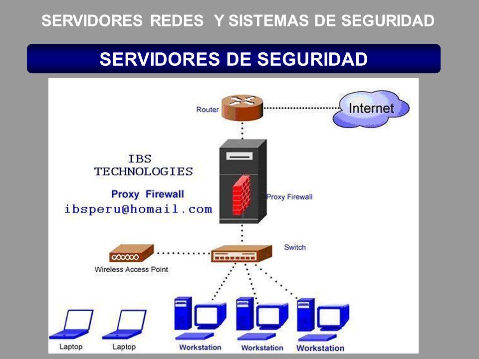 SERVIDORES DE SEGURIDAD