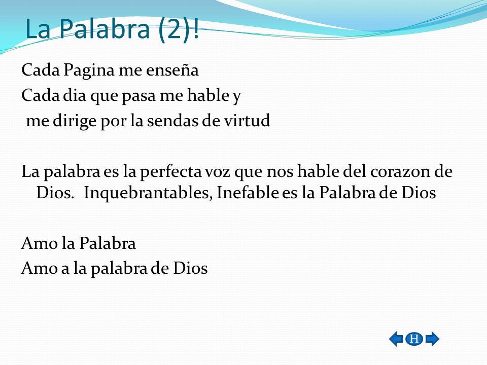 La Palabra (2)!