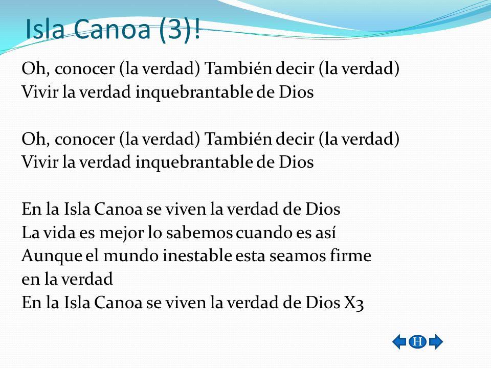 Isla Canoa (3)!