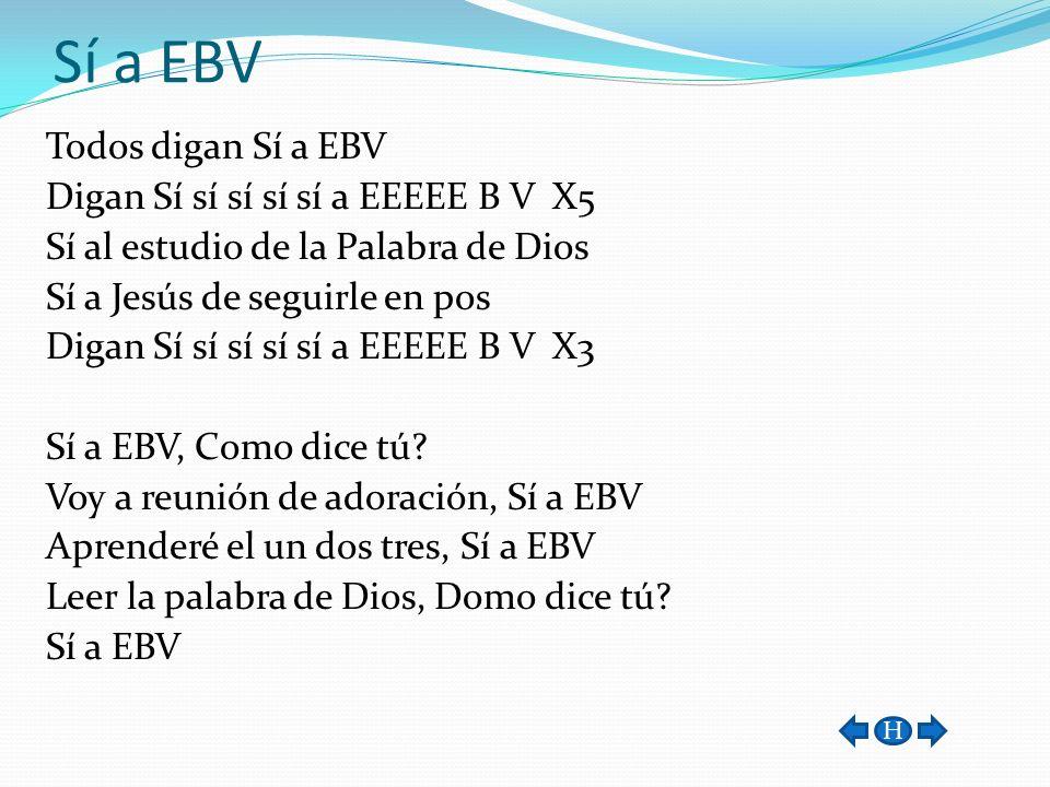 Sí a EBV