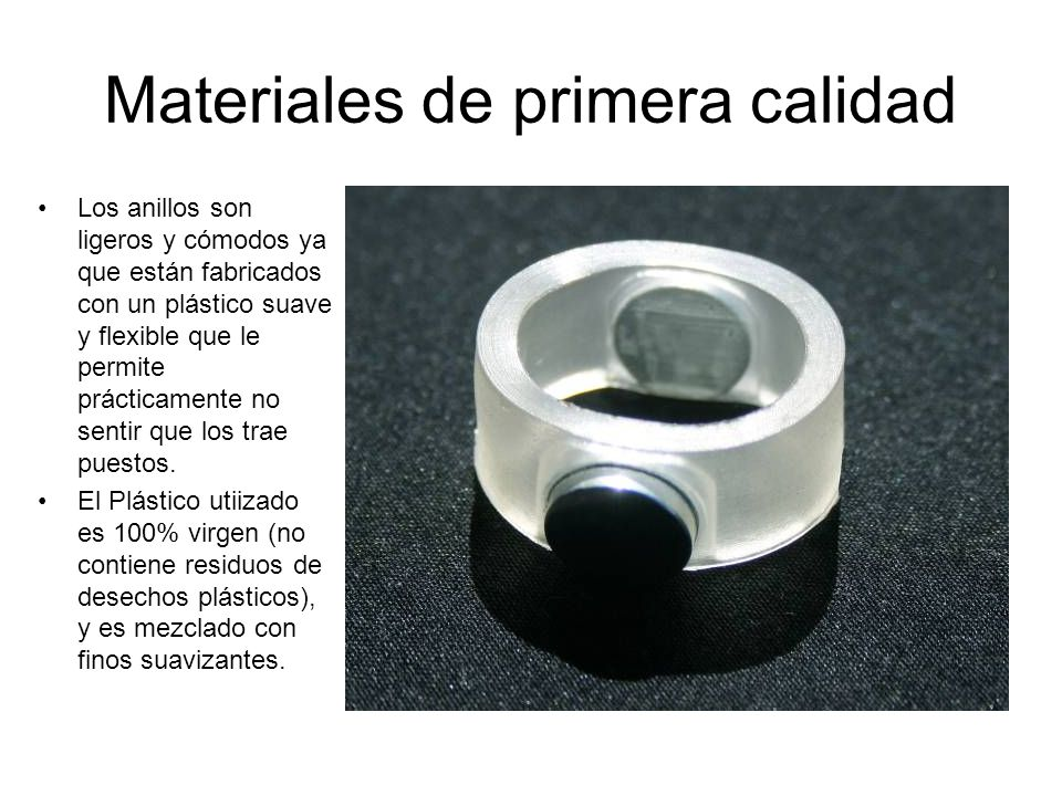 Materiales de primera calidad
