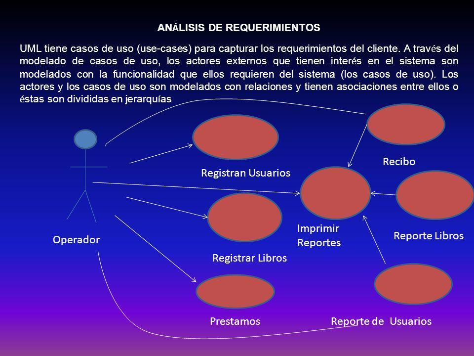 ANÁLISIS DE REQUERIMIENTOS