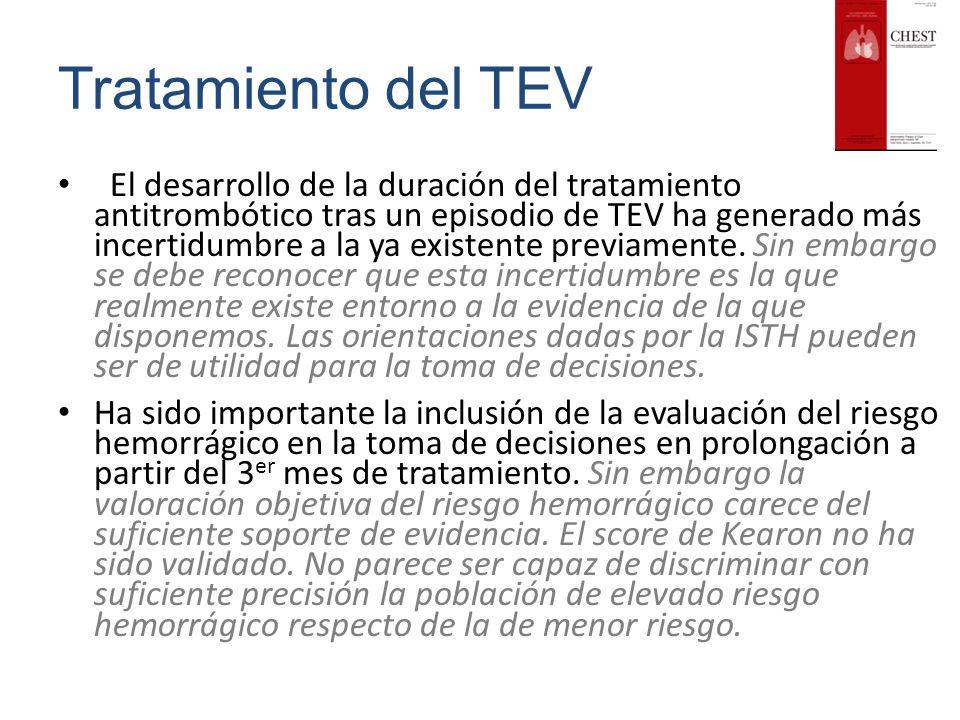 Tratamiento del TEV