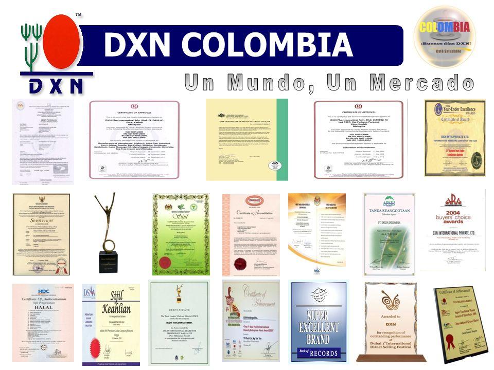 DXN COLOMBIA DXN MÉXICO DN VENEZUELA Un Mundo, Un Mercado