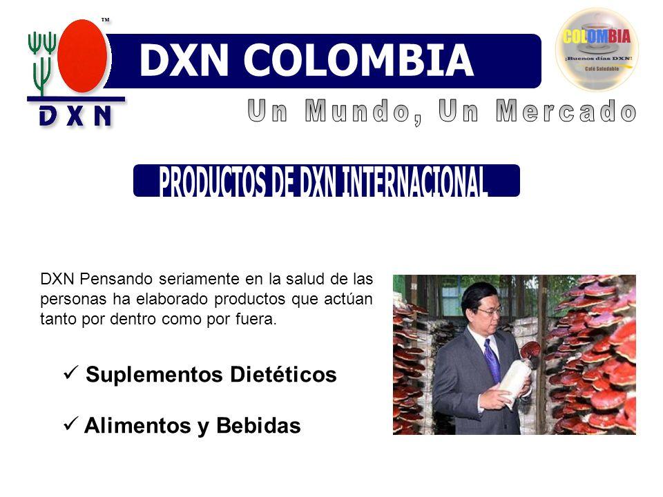 PRODUCTOS DE DXN INTERNACIONAL