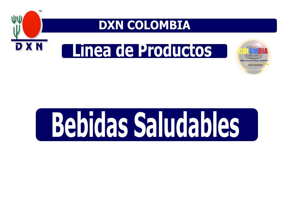DXN COLOMBIA DXN MÉXICO DXN VENEZUELA Linea de Productos Bebidas Saludables