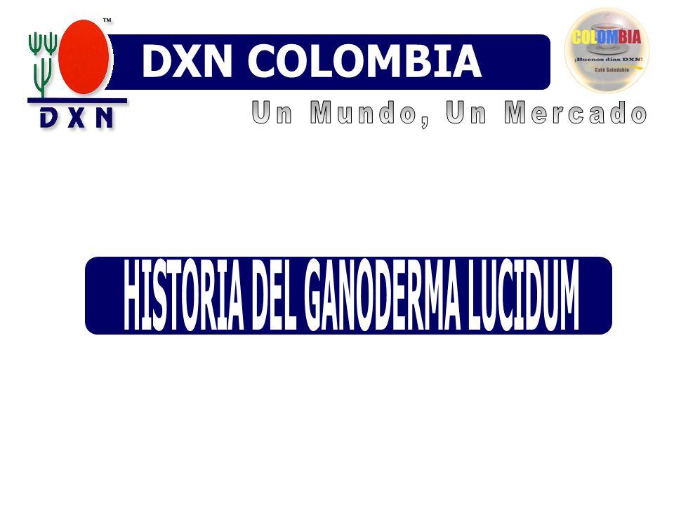 HISTORIA DEL GANODERMA LUCIDUM