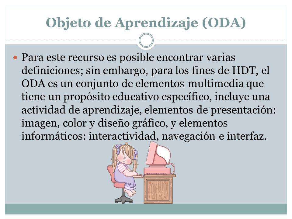 Objeto de Aprendizaje (ODA)