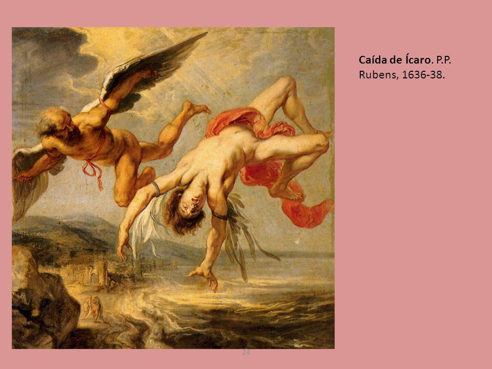 Caída de Ícaro. P.P. Rubens, 1636-38.