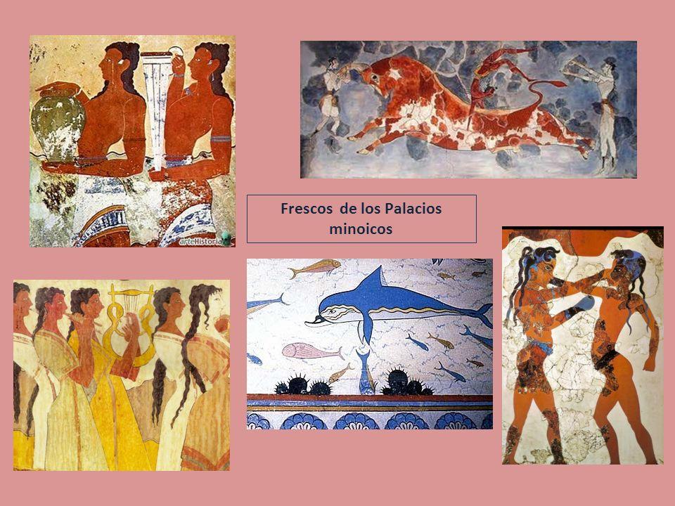 Frescos de los Palacios minoicos