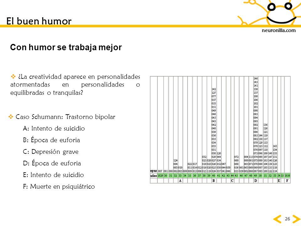 Con humor se trabaja mejor