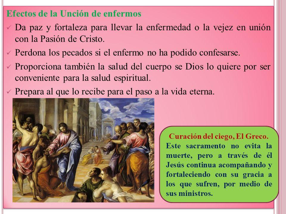 Curación del ciego, El Greco.