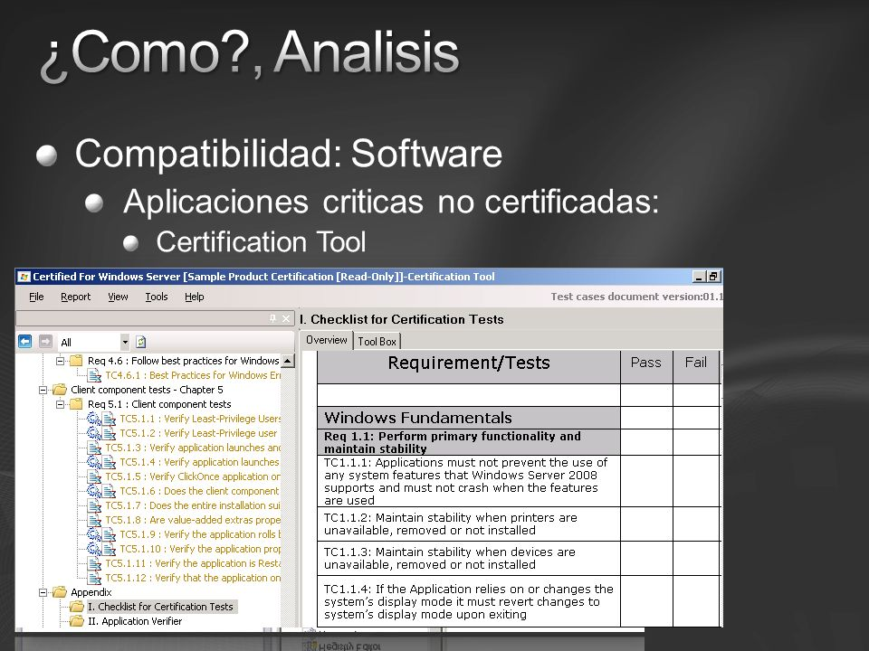 ¿Como , Analisis Compatibilidad: Software