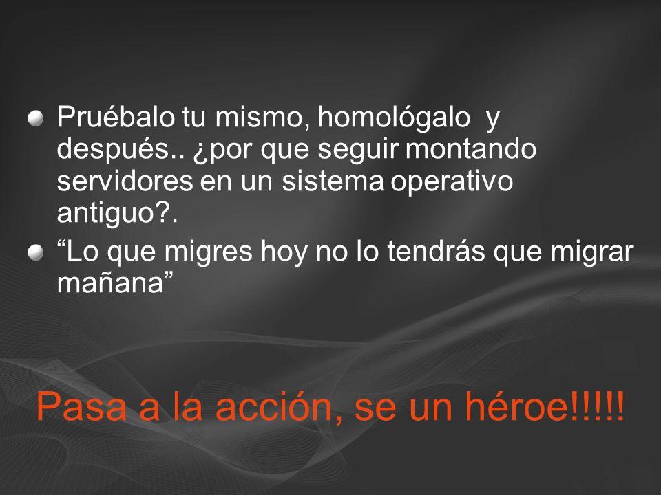 Pasa a la acción, se un héroe!!!!!