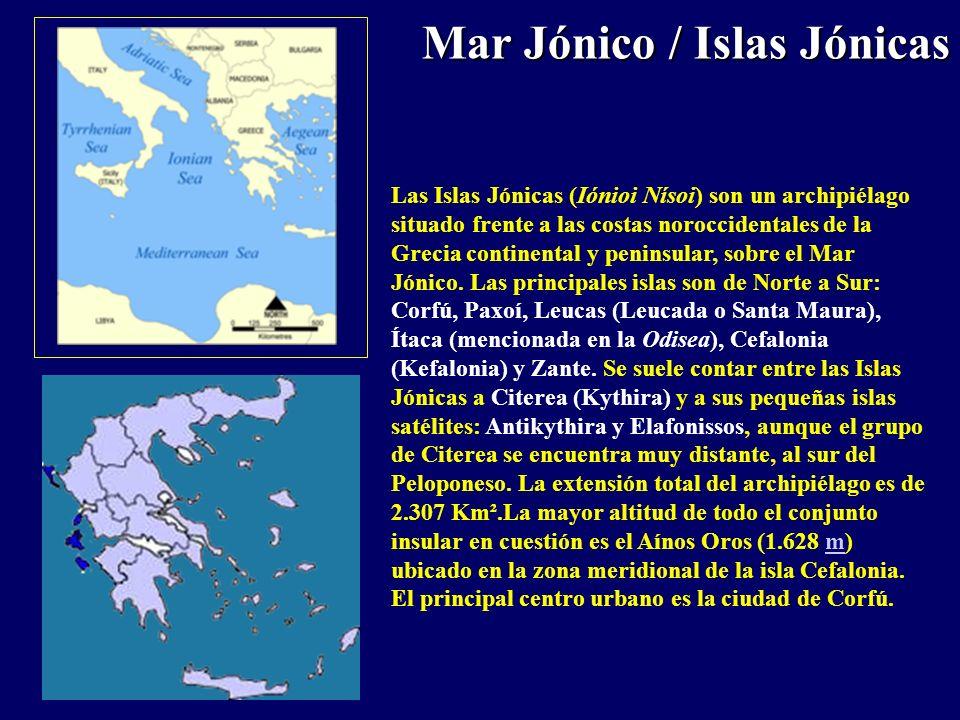 Mar Jónico / Islas Jónicas