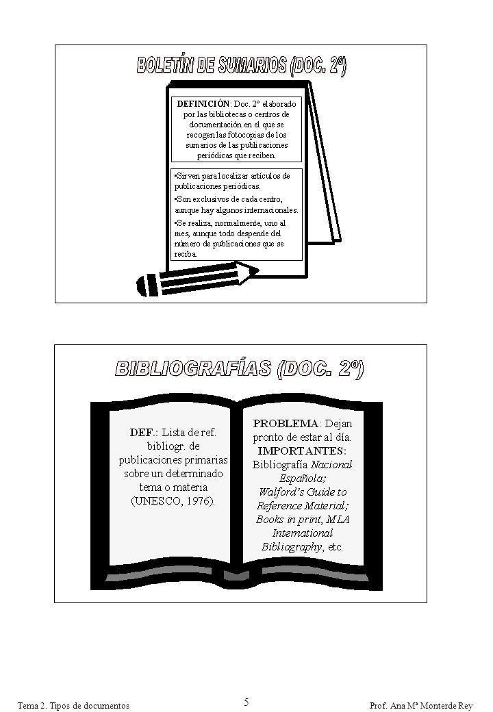 5 Tema 2. Tipos de documentos