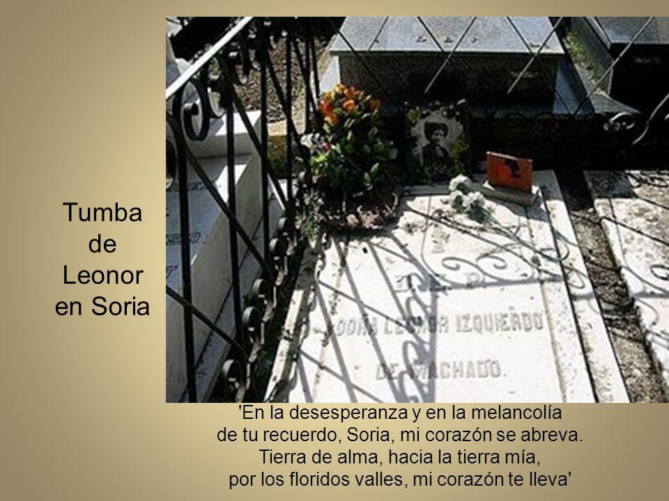 Tumba de Leonor en Soria