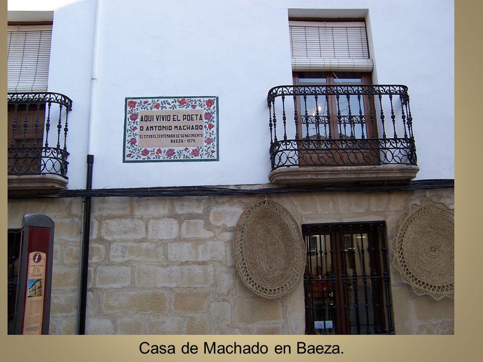 Casa de Machado en Baeza.
