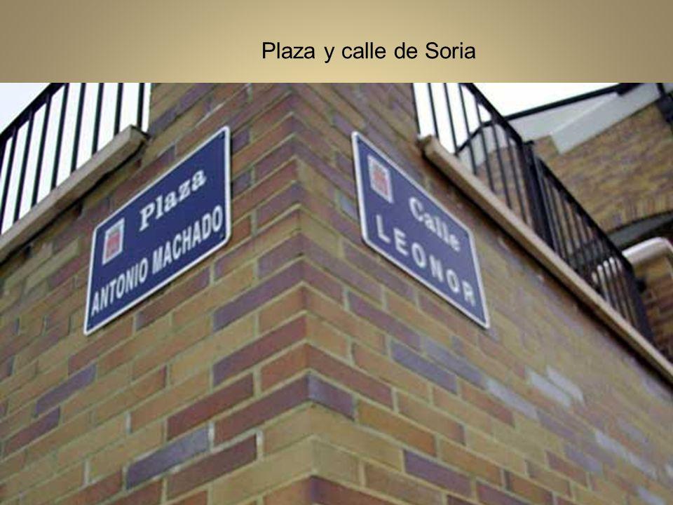 Plaza y calle de Soria