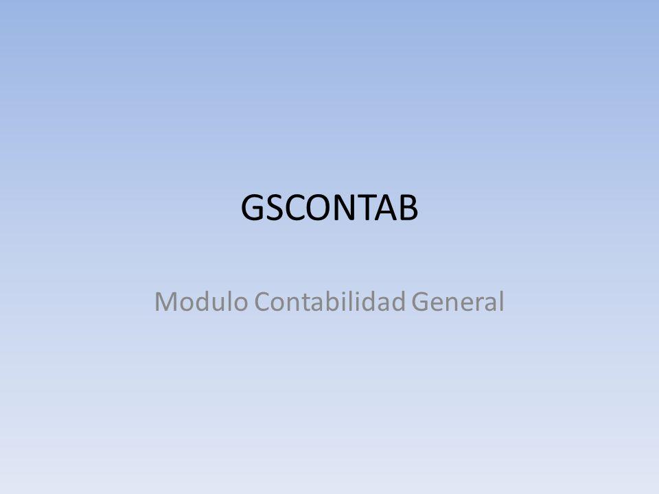 Modulo Contabilidad General