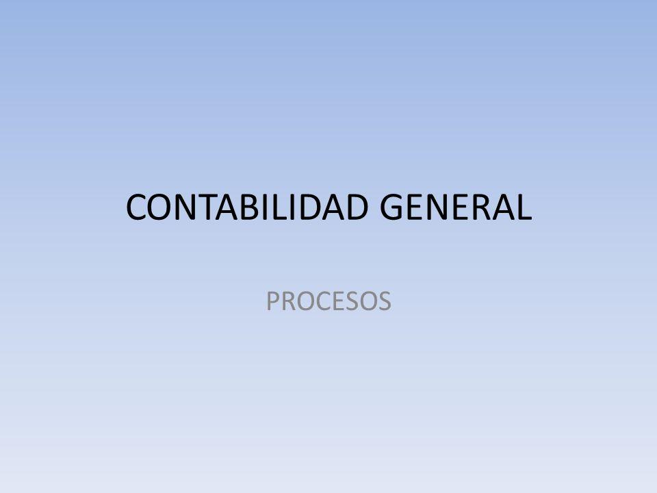 CONTABILIDAD GENERAL PROCESOS