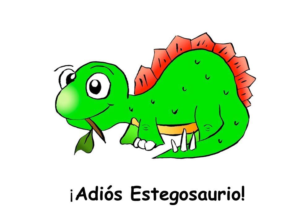 ¡Adiós Estegosaurio!