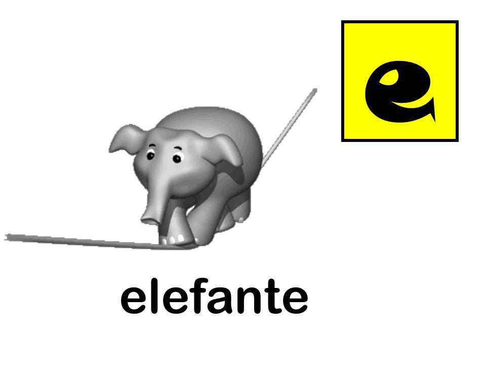 e elefante