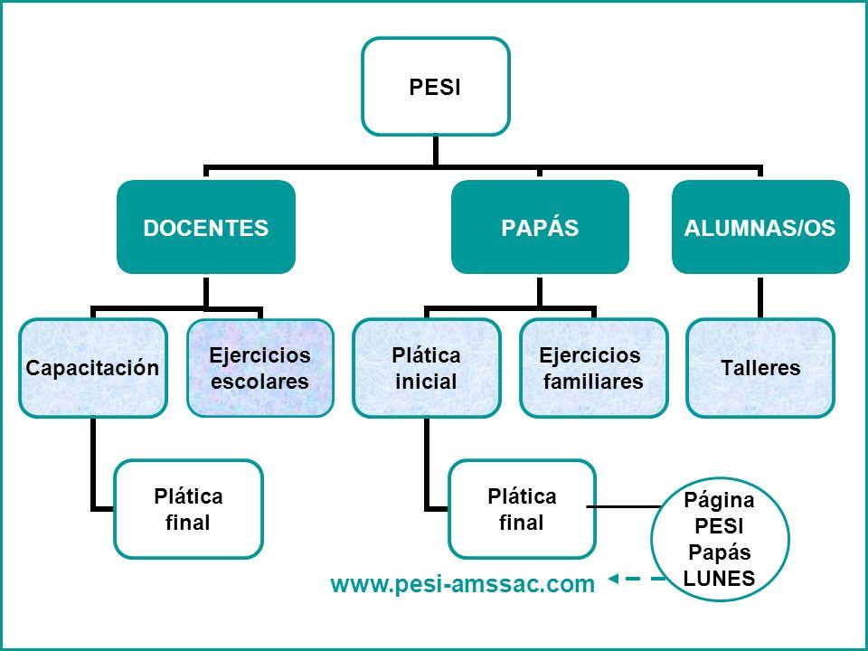 Página PESI Papás LUNES www.pesi-amssac.com