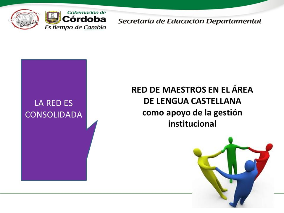 RED DE MAESTROS EN EL ÁREA DE LENGUA CASTELLANA