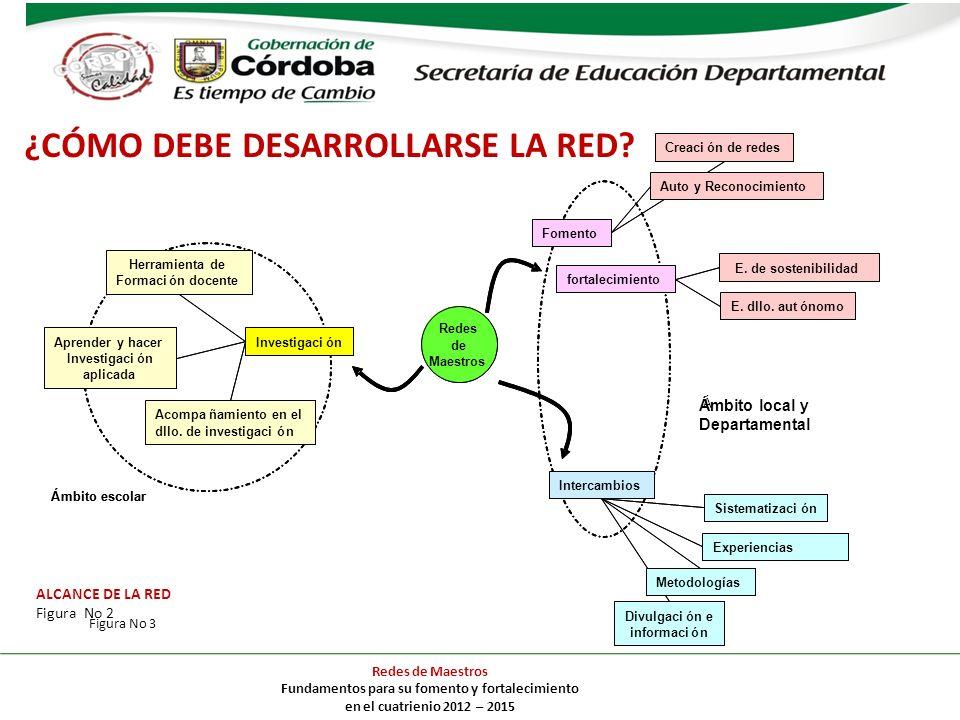 ¿CÓMO DEBE DESARROLLARSE LA RED