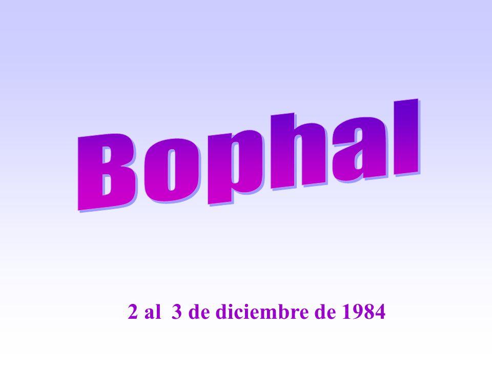 Bophal 2 al 3 de diciembre de 1984