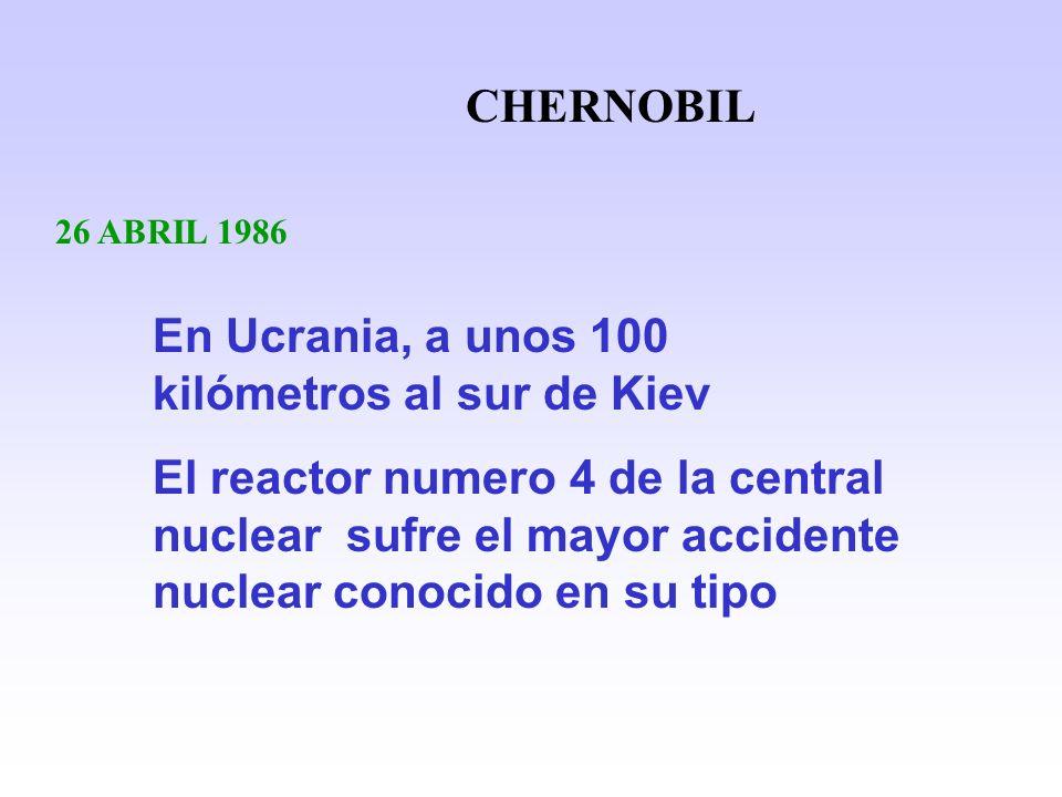 En Ucrania, a unos 100 kilómetros al sur de Kiev