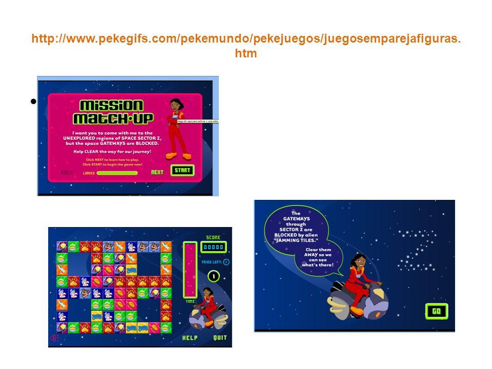 http://www. pekegifs. com/pekemundo/pekejuegos/juegosemparejafiguras