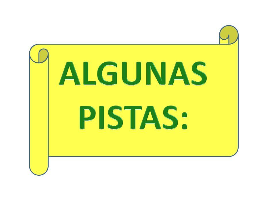 ALGUNAS PISTAS: