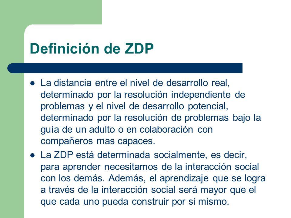 Definición de ZDP