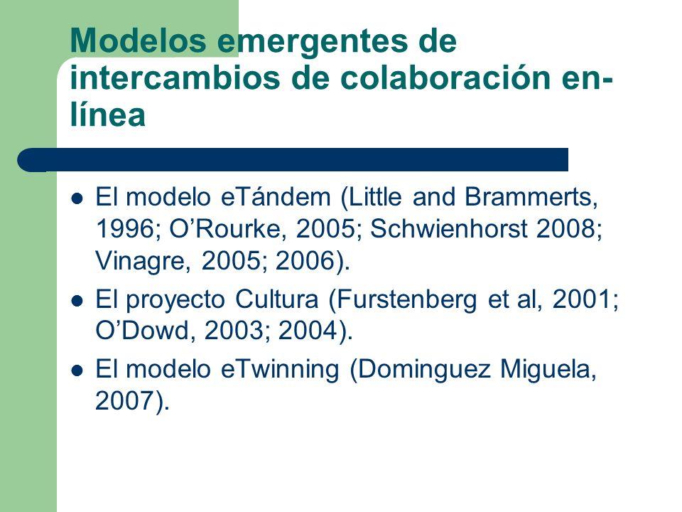 Modelos emergentes de intercambios de colaboración en-línea