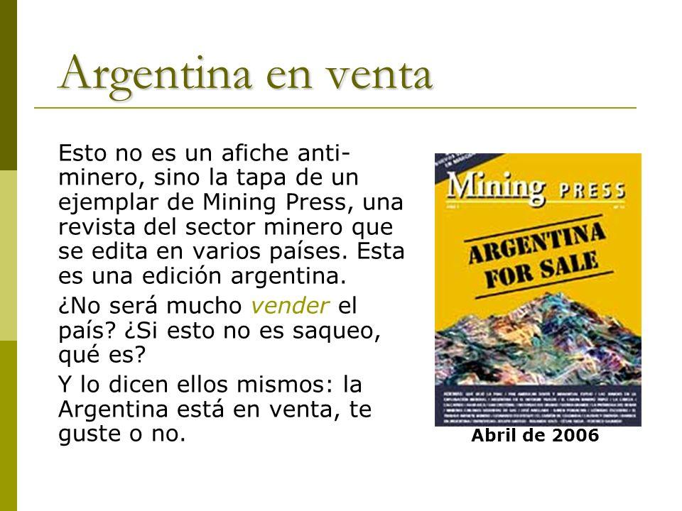 Argentina en venta