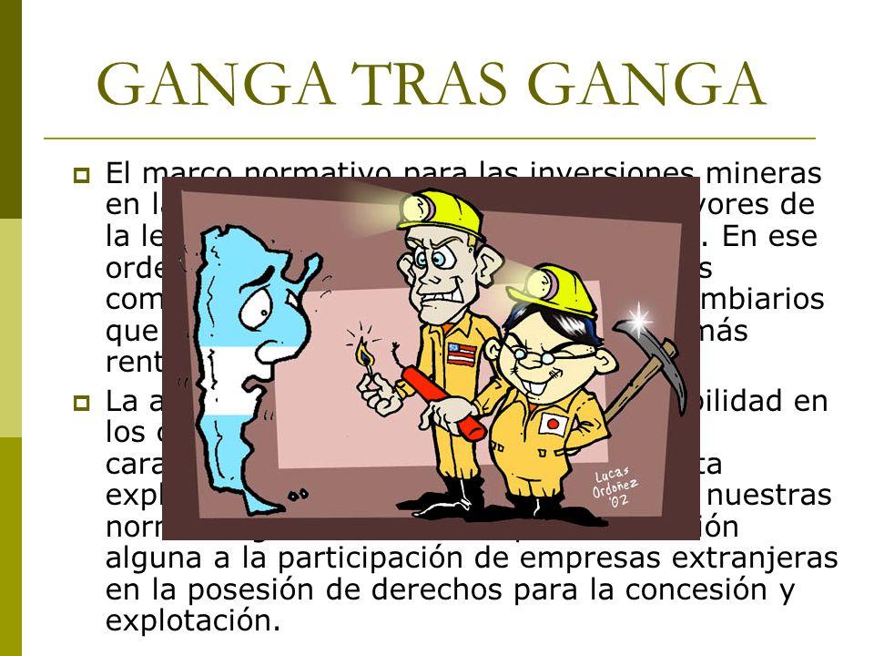 GANGA TRAS GANGA