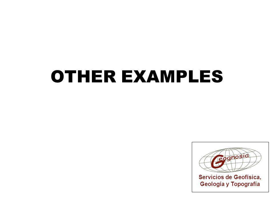 Servicios de Geofísica, Geología y Topografía