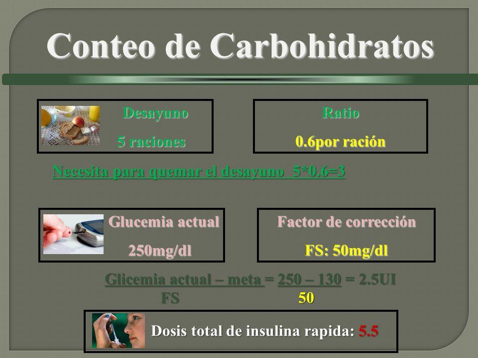 Conteo de Carbohidratos