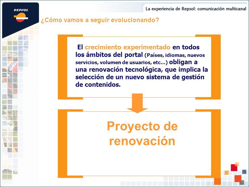Proyecto de renovación
