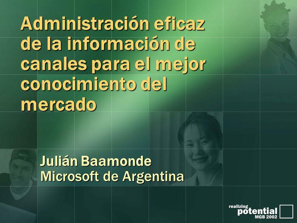 Julián Baamonde Microsoft de Argentina