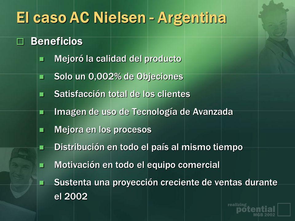 El caso AC Nielsen - Argentina