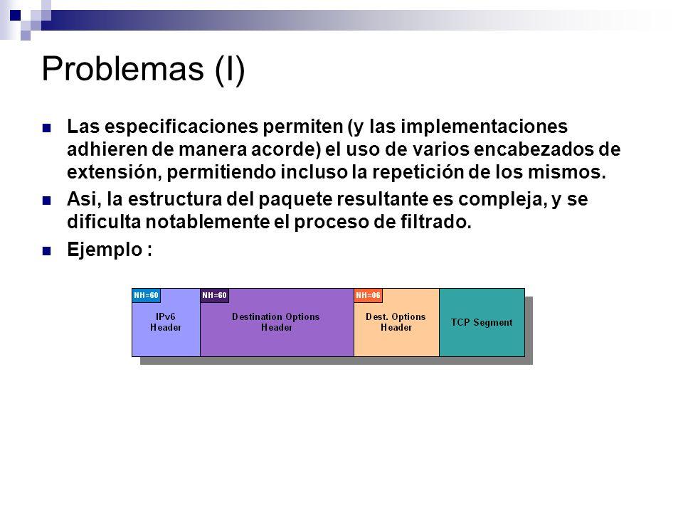 Problemas (I)
