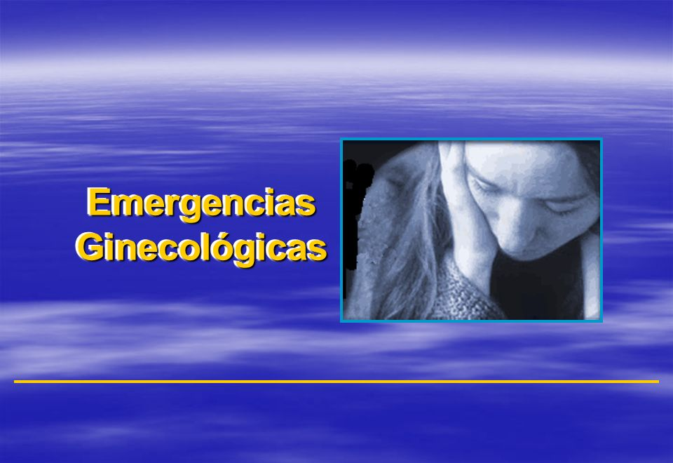 Emergencias Ginecológicas