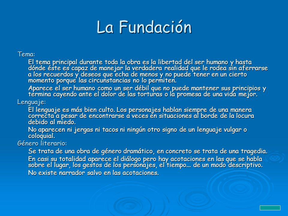 La Fundación Tema: